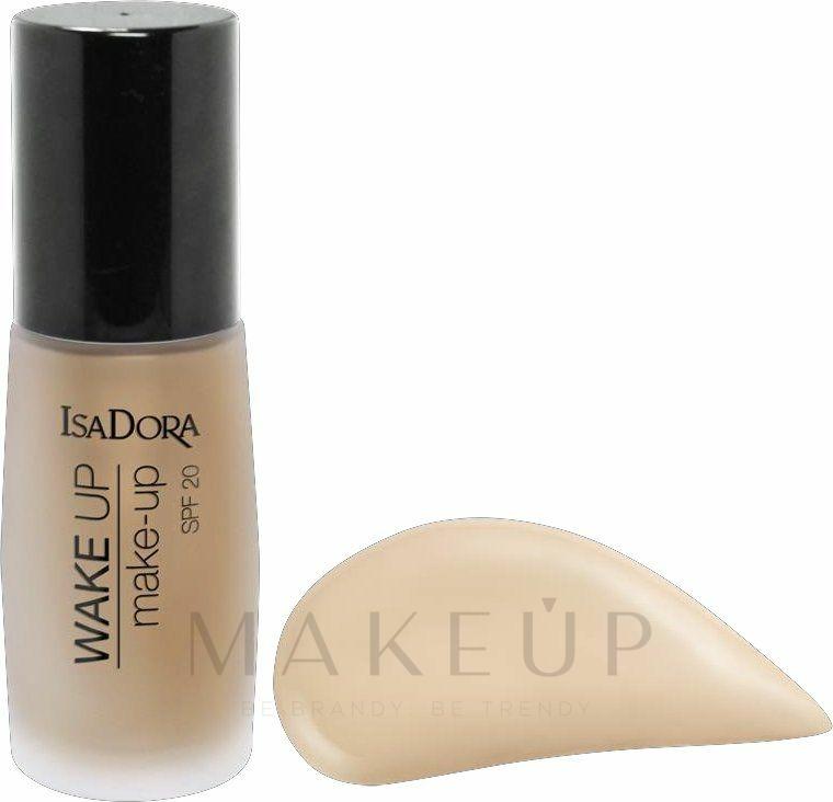 Foundation mit Anti-Müdigkeits-Effekt - IsaDora Wake Up Make-Up Foundation SPF 20 — Bild 00 - Fair