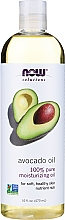 Düfte, Parfümerie und Kosmetik 100% Reines feuchtigkeitsspendendes Avocadoöl - Now Foods Solution Avocado Oil