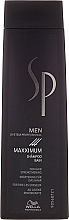 Düfte, Parfümerie und Kosmetik Kräftigendes und stimulierendes Shampoo für Männer - Wella SP Men Maxximum Shampoo