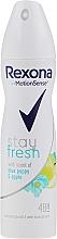 Düfte, Parfümerie und Kosmetik Deospray Antitranspirant - Rexona Blue Poppy & Apple Stay Fresh