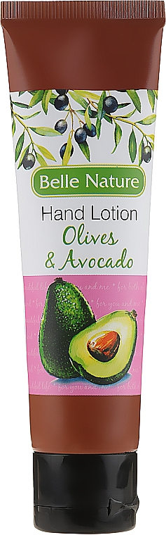 Handlotion mit Oliven und Avocado - Belle Nature Hand Lotion Olives&Avocado