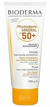 Düfte, Parfümerie und Kosmetik Sonnenschutzfluid für den Körper SPF 50+ - Bioderma Photoderm Mineral Fluid SPF 50+