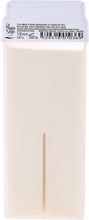 Breiter Roll-on-Wachsapplikator für den Körper weiß - Peggy Sage Cartridge Of Fat-Soluble Warm Depilatory Wax Blanc