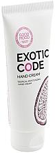 Düfte, Parfümerie und Kosmetik Feuchtigkeitsspendende Handcreme für trockene und normale Haut - Good Mood Exotic Code Hand Cream