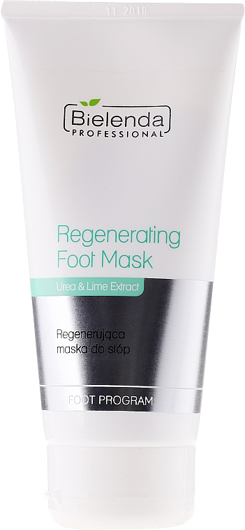 Regenerierende Fußmaske mit Urea und Limettenextrakt - Bielenda Professional Foot Program Regenerating Foot Mask