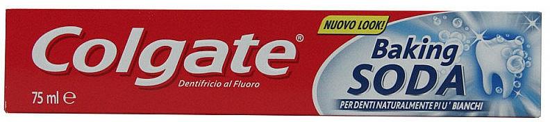 Zahnpasta Baking Soda - Colgate Toothpaste Baking Soda