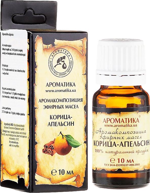 Ätherisches Bio Öl Zimt und Orange - Aromatika