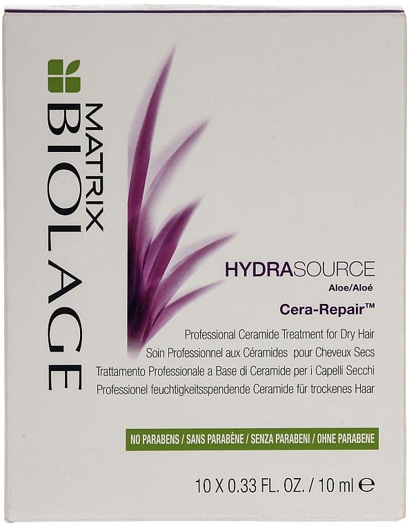 Proffesionell feuchtigkeitsspendende Ceramide für trockenes Haar - Biolage Hydrasource Cera-Repair Treatment