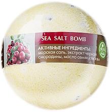 Düfte, Parfümerie und Kosmetik Meersalz Badebombe mit schwarzen Johannisbeeren- und Moosbeerenduft - ECO Laboratorie Sea Salt Bomb