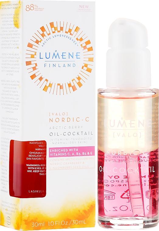Feuchtigkeitsspendendes Gesichtsöl mit Vitaminen - Lumene Nordic-C Valo Arctic Berry Oil-Cocktail