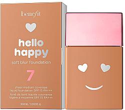Düfte, Parfümerie und Kosmetik Leichte Foundation - Benefit Hello Happy Soft Blur Foundation