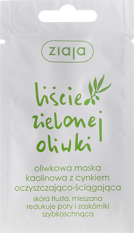 Gesichtsreinigungsmaske - Ziaja Olive Leaf Mask