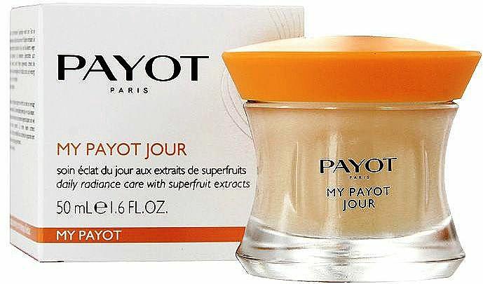 Erfrischende und vitalisierende Tagescreme mit Goji- und Acai-Beeren, Bifidobakterien und Vitamin B5 - Payot My Payot Jour — Bild N2