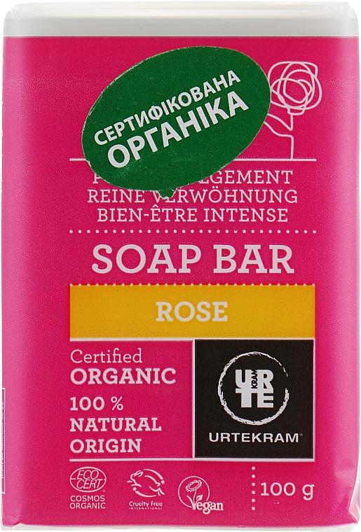 Naturseife mit Rose - Urtekram Pure Indulgement Rose Soap