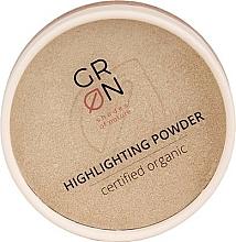 Düfte, Parfümerie und Kosmetik Highlighter-Puder - GRN Highlighting Powder