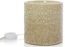 Düfte, Parfümerie und Kosmetik Elektrischer Wachswärmer - Yankee Candle Belmont Glaced Ceramic Electric Wax Melts Warmer