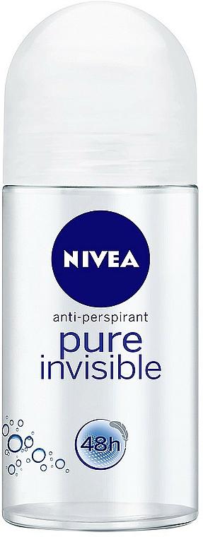 Deo Roll-on Antitranspirant - Nivea Invisible Deodorant Roll-on — Bild N1