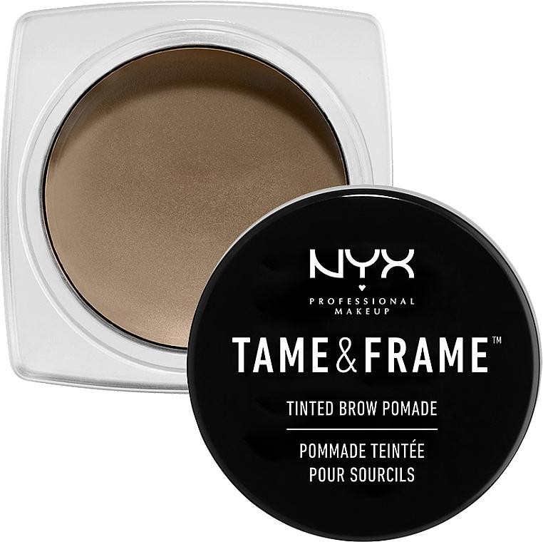 Augenbrauenpomade - NYX Professional Makeup Tame & Frame Brow Pomade