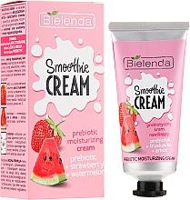 Düfte, Parfümerie und Kosmetik Feuchtigkeitsspendende Gesichtscreme mit Wassermelonen- und Erdbeerextrakt - Bielenda Smoothie Cream