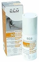Düfte, Parfümerie und Kosmetik Sonnenschutzgel für das Gesicht SPF 30 - Eco Cosmetics Gel Solarie Visage