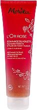 Düfte, Parfümerie und Kosmetik Glättendes Körper-Scrub gegen Hautunebenheiten - Melvita L'Or Rose Refining Scrub