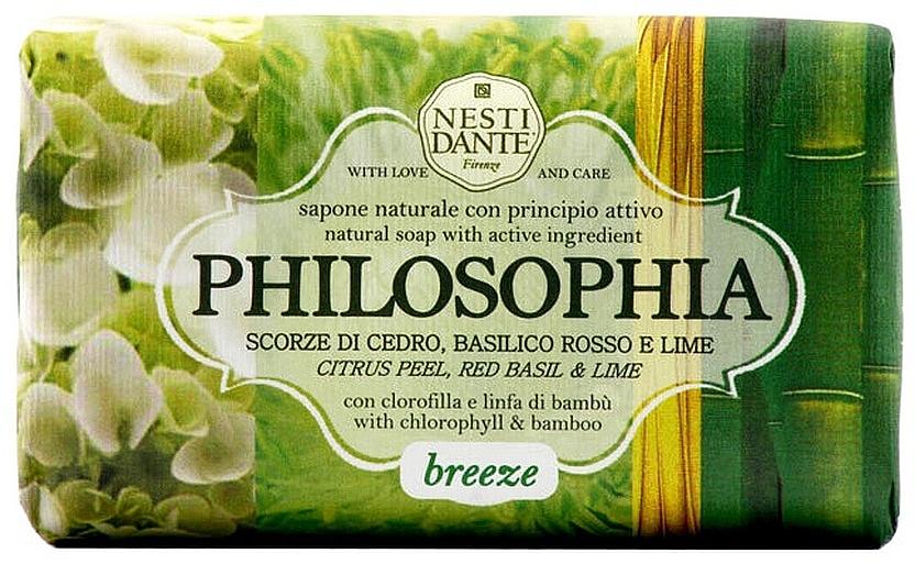Naturseife Breeze - Nesti Dante Refreshing & Relaxing Soap Philosophia Collection
