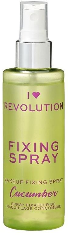 Make-up-Fixierer - I Heart Revolution Fixing Spray Cucumber