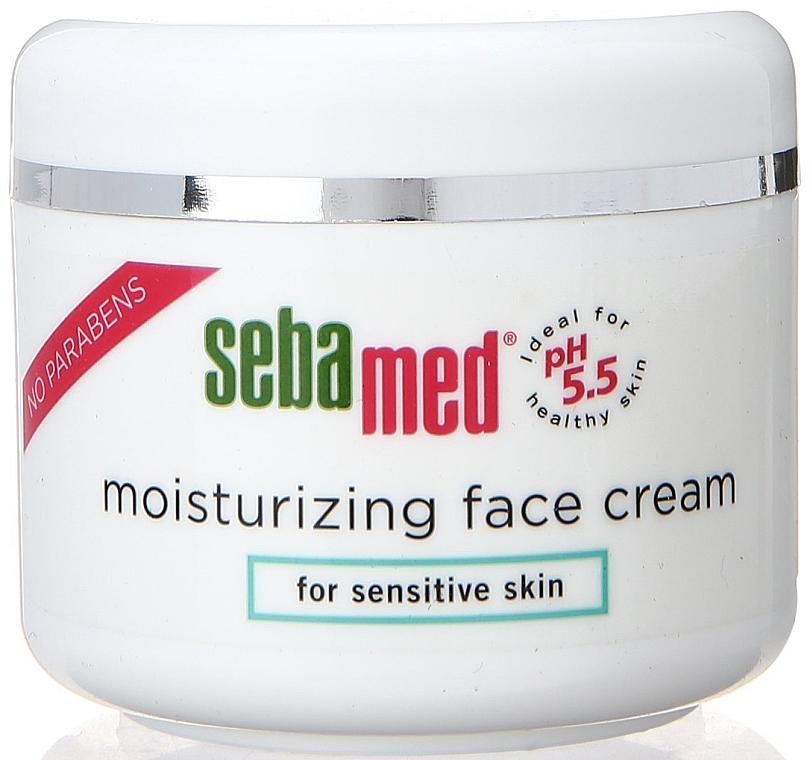 Feuchtigkeitsspendende Gesichtscreme für empfindliche Haut - Sebamed Moisturing Face Cream Sensitive Skin — Bild N1