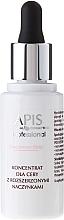 Düfte, Parfümerie und Kosmetik Gesichtskonzentrat für erweiterte Kapillaren - APIS Professional Couperose-Stop Concentrate