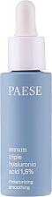 Düfte, Parfümerie und Kosmetik Gesichtsserum mit Hyaluronsäure - Paese Serum