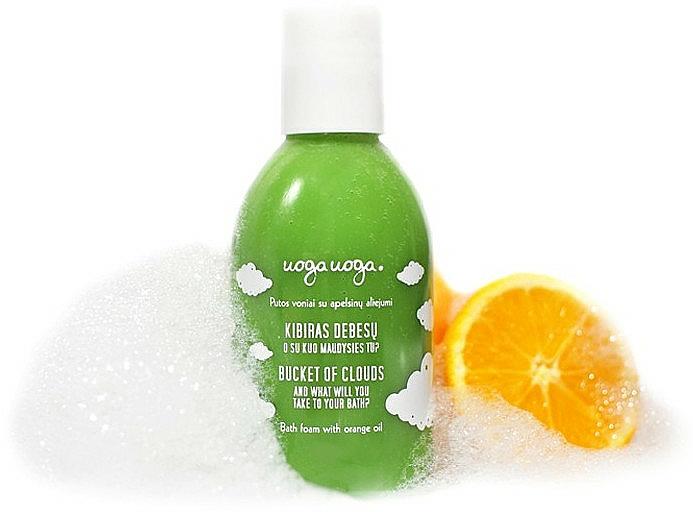 Badeschaum für Kinder mit Orangenöl - Uoga Uoga Bath Foam