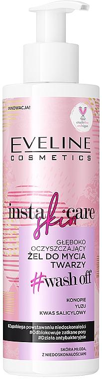 Tiefenreinigendes Gesichtswaschgel - Eveline Cosmetics Insta Skin Care #Wash Off