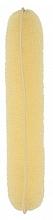 Düfte, Parfümerie und Kosmetik Haarroller 230 mm beige - Lussoni Hair Bun Roll Yellow