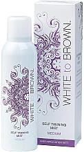 Düfte, Parfümerie und Kosmetik Selbstbräunungsnebel für den Körper - White To Brown Self Tanning Mist Medium