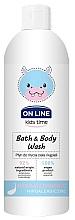 Düfte, Parfümerie und Kosmetik Hypoallergenes Bade- und Duschgel für Kinder - On Line Kids Time Bath & Body Wash Hypoallergenic