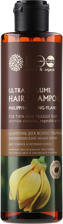 Shampoo für mehr Volumen - ECO Laboratorie Ultra Volume Hair Shampoo