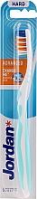 Düfte, Parfümerie und Kosmetik Zahnbürste ohne Kappe weiß-hellblau - Jordan Advanced Toothbrush