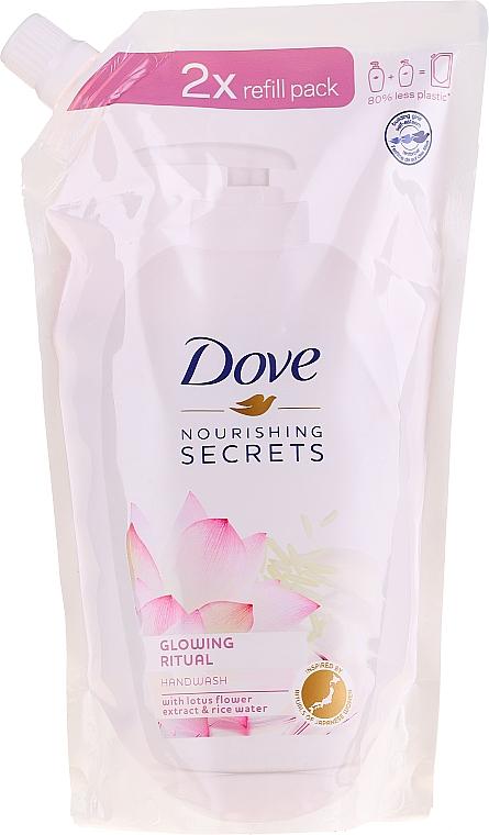 "Flüssige Handseife ""Lotus"" - Dove Nourishing Secrets Glowing Ritual Hand Wash (Doypack)"