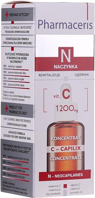 Glättendes und stärkendes Gesichtskonzentrat mit Vitamin C - Pharmaceris N Serum with Vit. C 1200mg Strengtening and Smoothing
