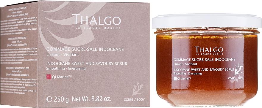 Körperpeeling mit Meersalz, braunem Zucker und ätherischen Pflanzenölen - Thalgo Sweet and Savoury Body Scrub