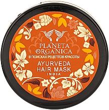 Maske für schnelles Wachstum und Haardichte - Planeta Organica Ayurveda Hair Mask — Bild N3