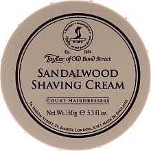 Düfte, Parfümerie und Kosmetik Rasiercreme mit Sandelholzduft - Taylor of Old Bond Street Sandalwood Shaving Cream Bowl