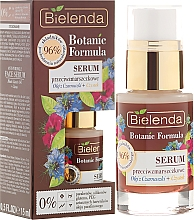 Düfte, Parfümerie und Kosmetik Gesichtsserum - Bielenda Botanic Formula Black Seed Oil + Cistus Anti-Wrinkle Serum