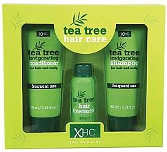 Düfte, Parfümerie und Kosmetik Haarpflegeset - Xpel Marketing Ltd Tea Tree Invigorating (Shampoo 100 ml + Conditioner 100 ml + Haarserum 30 ml)