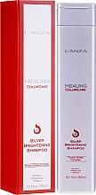 Düfte, Parfümerie und Kosmetik Shampoo gegen Gelbstich für silbernes, graues und blondes Haar - L'Anza Healing ColorCare Silver Brightening Shampoo