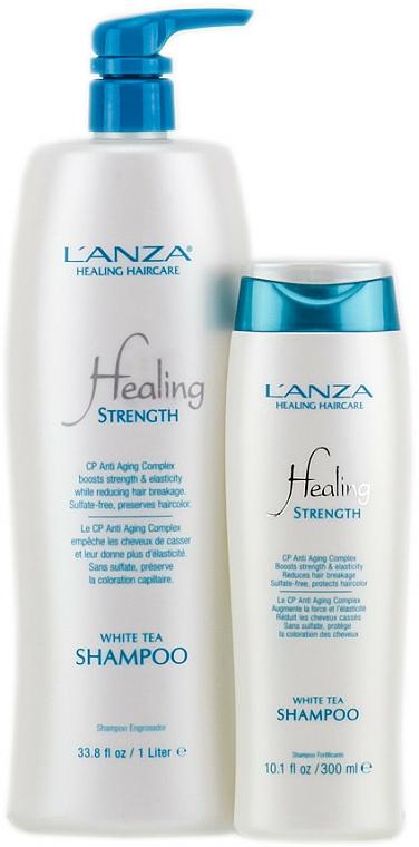 Pflegendes Shampoo mit weißem Tee - Lanza Healing Strength White Tea Shampoo — Bild N3
