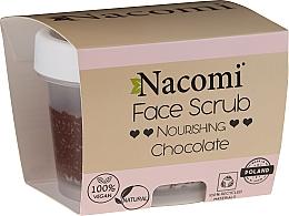 Düfte, Parfümerie und Kosmetik Pflegendes Gesichts- und Lippenpeeling mit Schokolade - Nacomi Moisturizing Face & Lip Scrub Chocolate