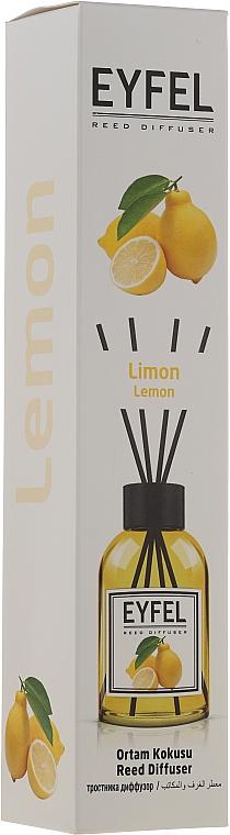 Raumerfrischer Lemon - Eyfel Perfume Lemon Reed Diffuser