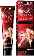 Düfte, Parfümerie und Kosmetik Enthaarungscreme für Beine mit Hyaluronsäure - Eveline Cosmetics Laser Precision