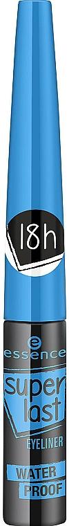 Wasserfeste Augenlinie - Essence SuperLast Eyeliner Waterproof